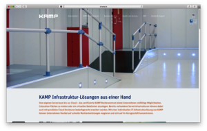 Relaunch der KAMP Website